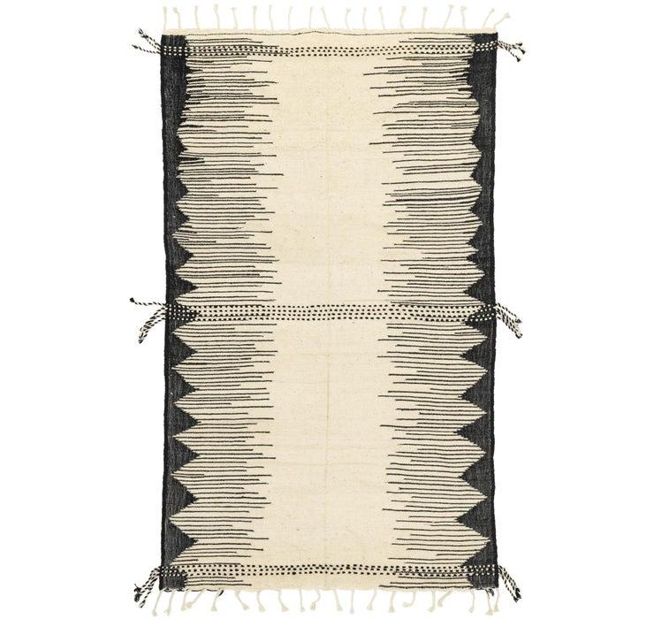 6' 8 x 11' 2 Moroccan Rug