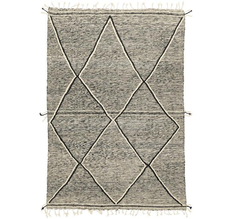 6' 9 x 9' 10 Moroccan Rug