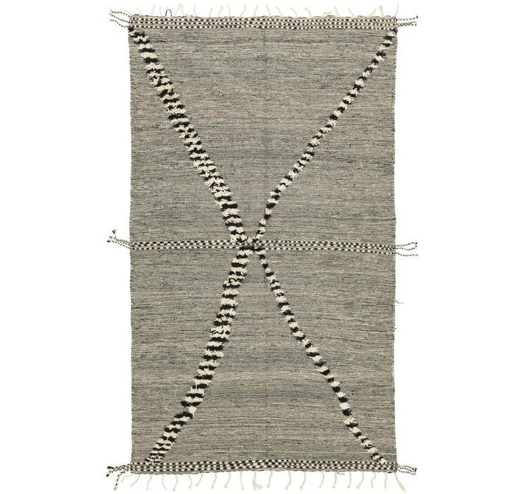 6' 5 x 11' 2 Moroccan Rug