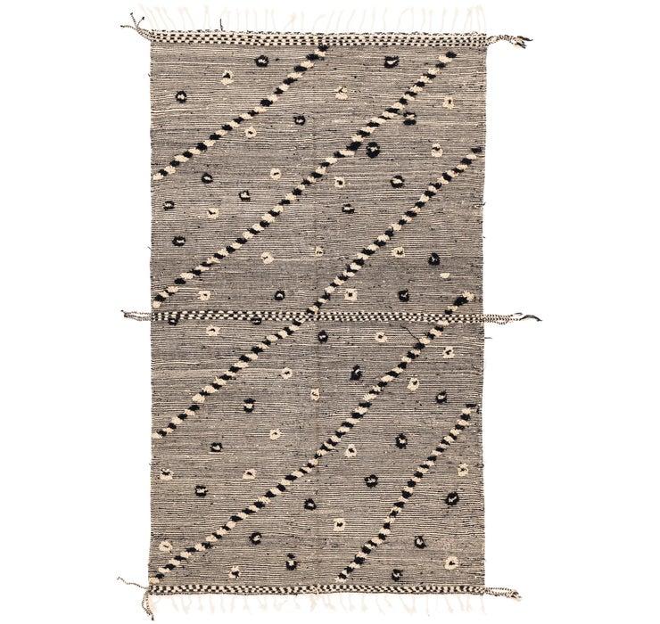 5' 9 x 10' 3 Moroccan Rug