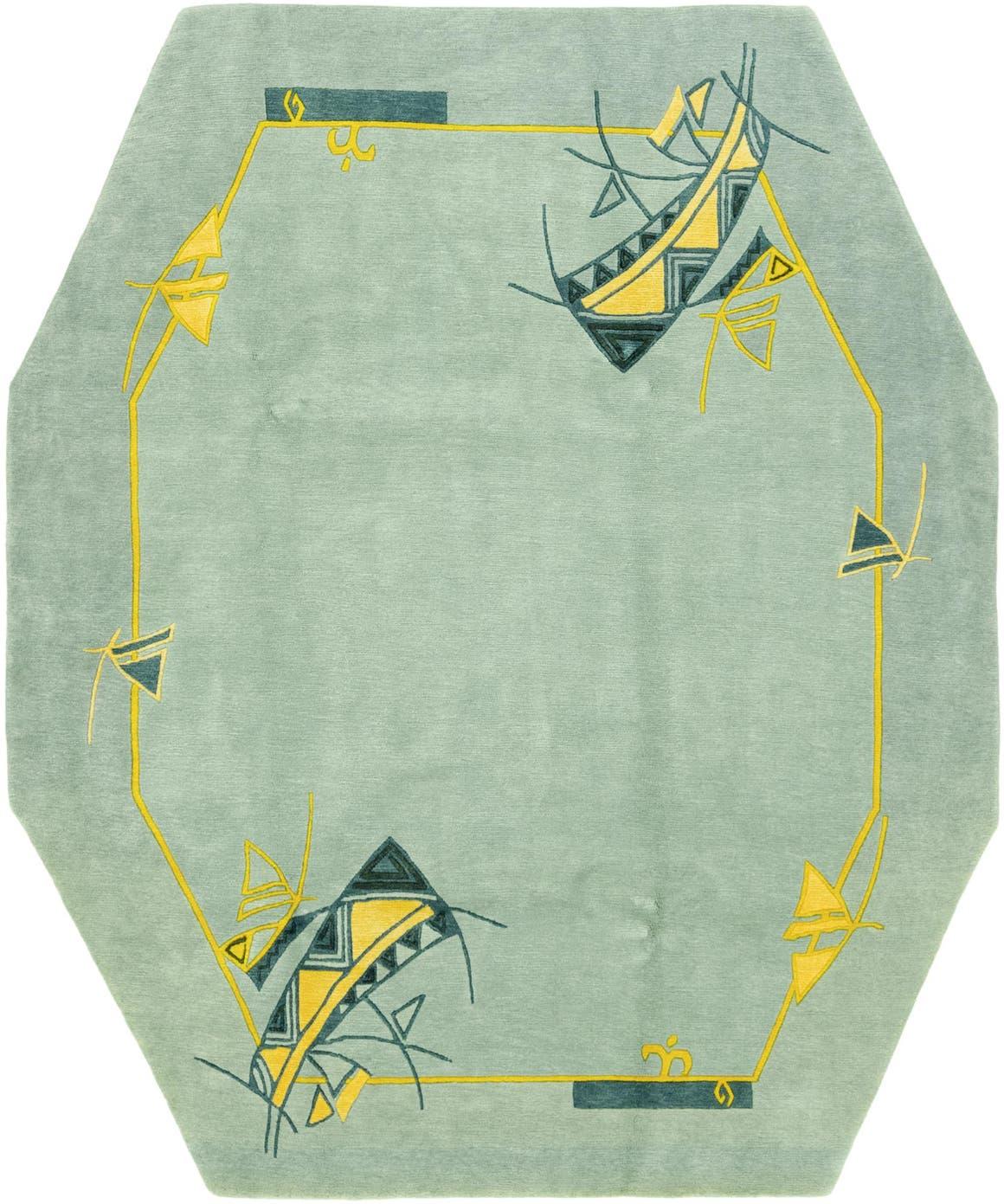 7' 7 x 9' 2 Nepal Octagon Rug main image