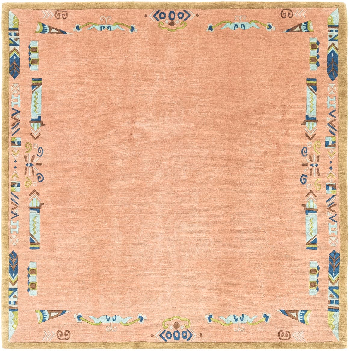 6' 6 x 6' 8 Nepal Square Rug main image