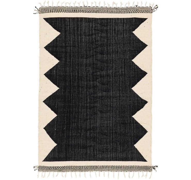 6' 10 x 9' 8 Moroccan Rug