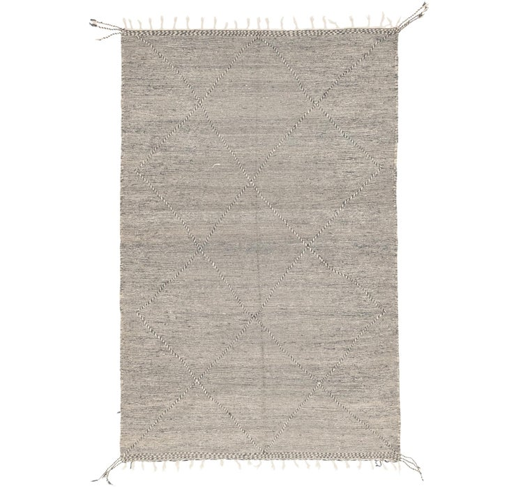 6' 8 x 9' 11 Moroccan Rug