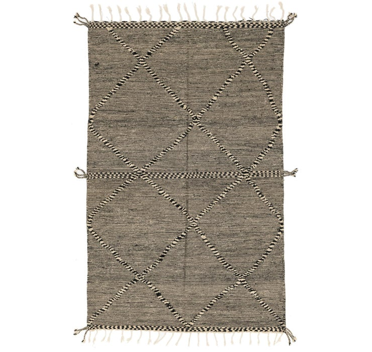 Image of 193cm x 310cm Moroccan Rug