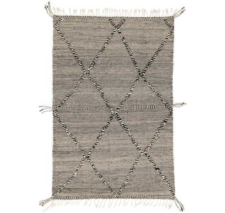 6' 3 x 10' Moroccan Rug