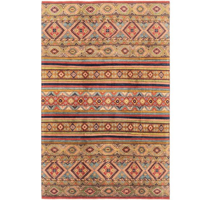 6' 6 x 10' Kazak Rug
