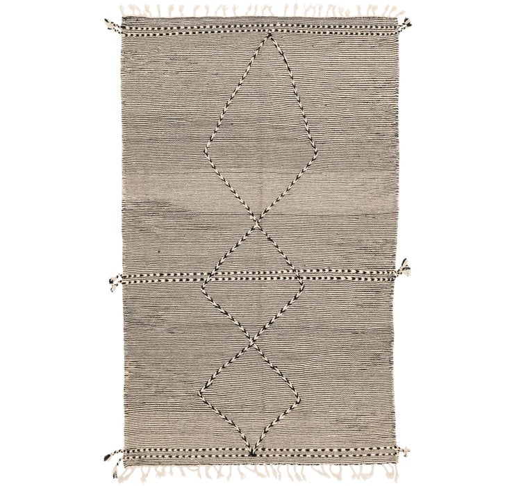 5' 3 x 8' 6 Moroccan Rug