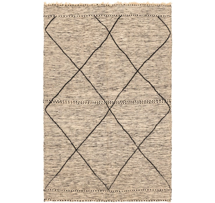 5' 5 x 8' 3 Moroccan Rug