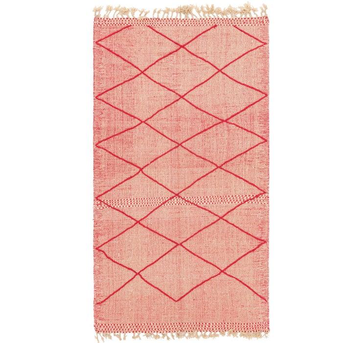4' 10 x 9' 3 Moroccan Rug