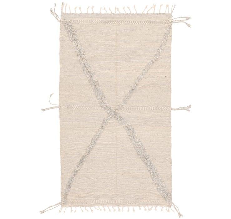 5' 6 x 9' 1 Moroccan Rug