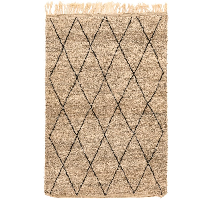 Image of 200cm x 302cm Moroccan Rug
