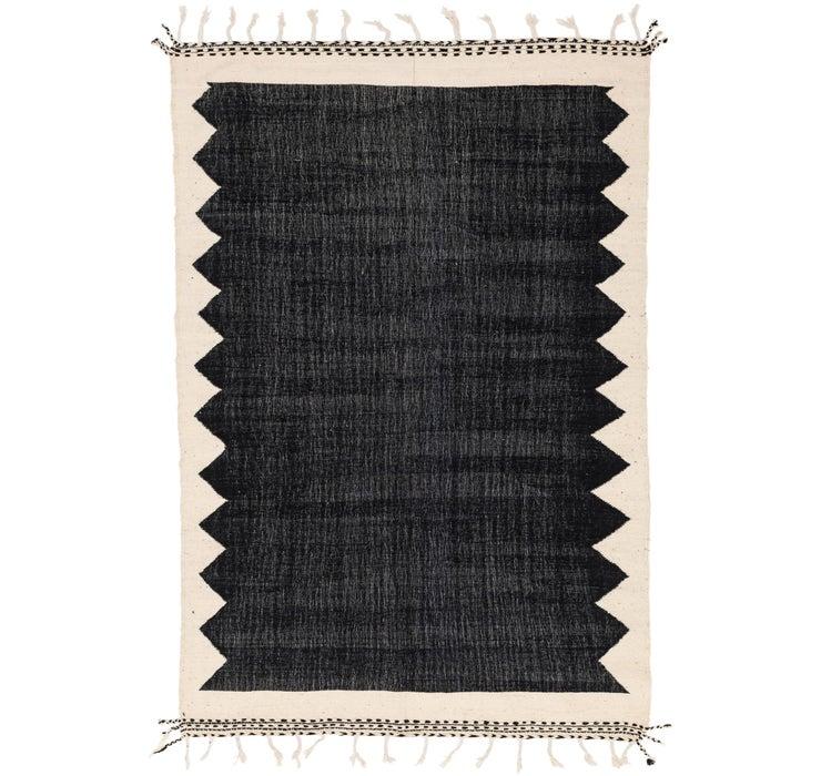 6' 11 x 10' 7 Moroccan Rug