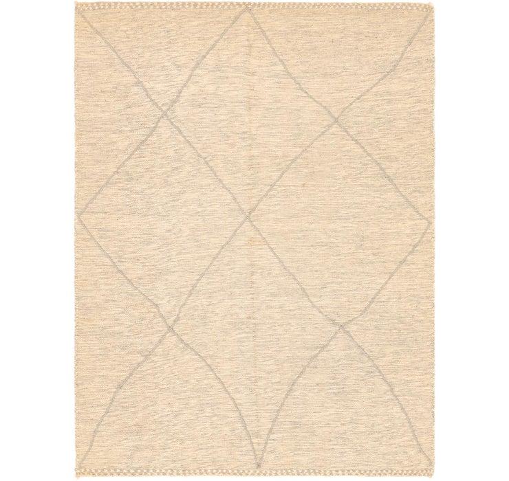 6' 11 x 9' 1 Moroccan Rug