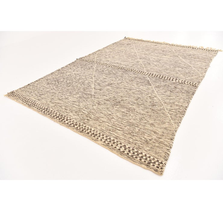 6' 7 x 9' Moroccan Rug