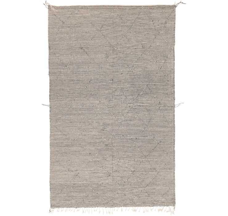 6' 4 x 10' 1 Moroccan Rug