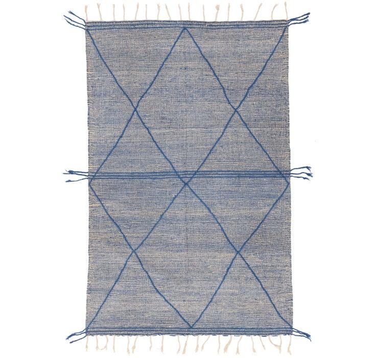6' 8 x 10' 5 Moroccan Rug
