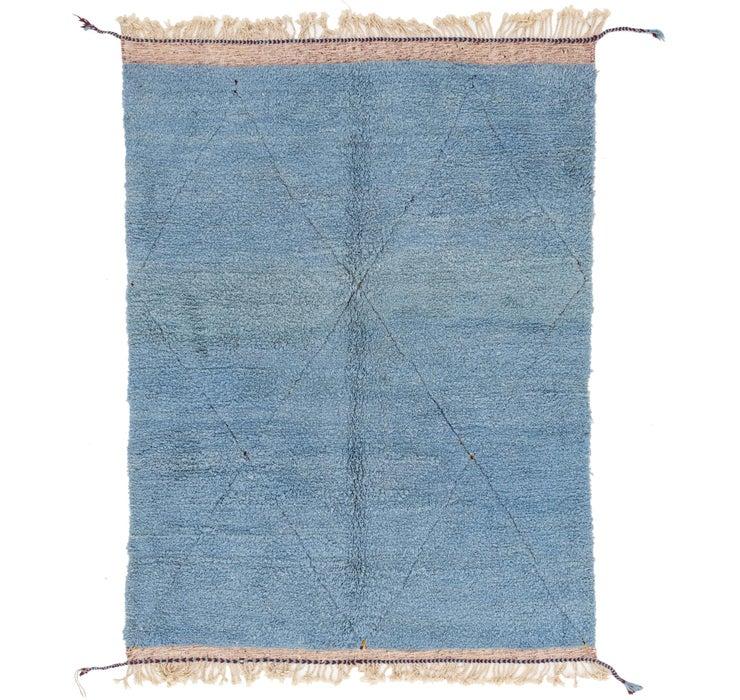 6' 11 x 9' 3 Moroccan Rug