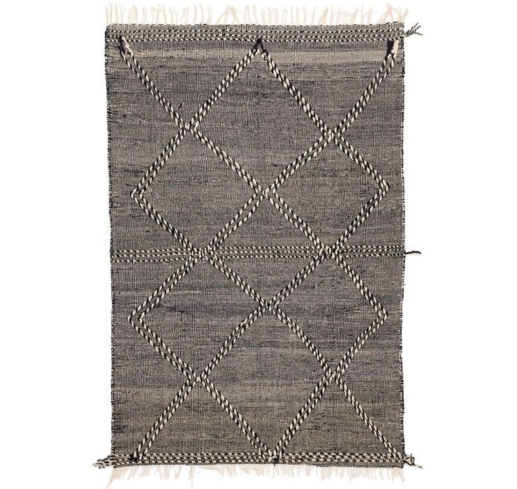 6' 7 x 9' 9 Moroccan Rug