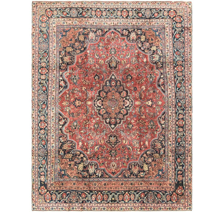 8' 11 x 11' 9 Mashad Persian Rug