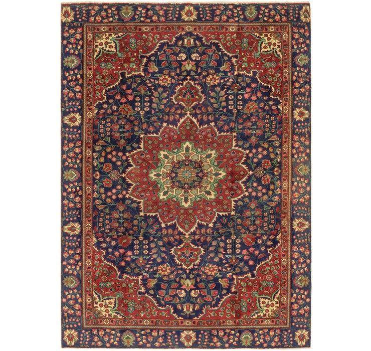 7' 2 x 10' 4 Tabriz Persian Rug