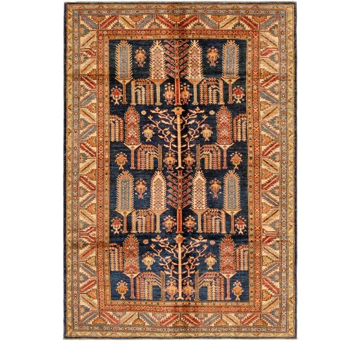 6' 2 x 8' 6 Kazak Oriental Rug