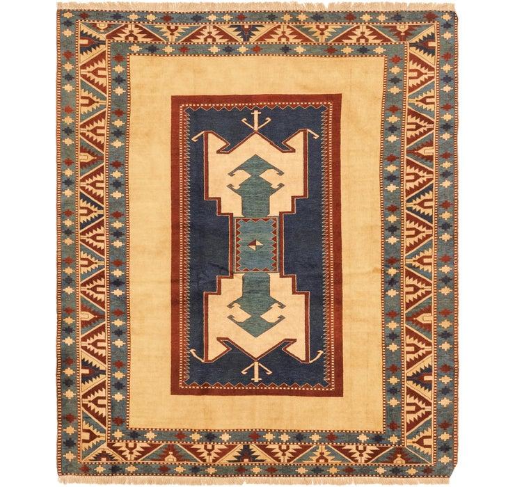 183cm x 210cm Shirvan Persian Square ...