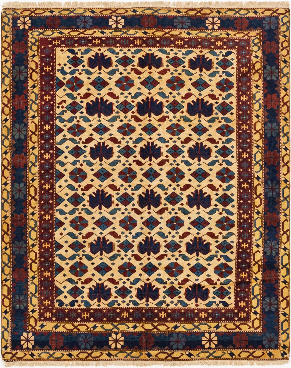 5' 10 x 7' 5 Shirvan Persian Rug main image