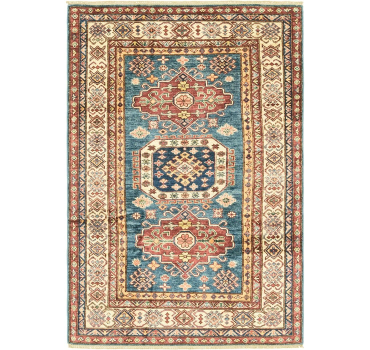 4' x 6' Kazak Oriental Rug