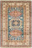 122cm x 183cm Kazak Oriental Rug thumbnail image 1
