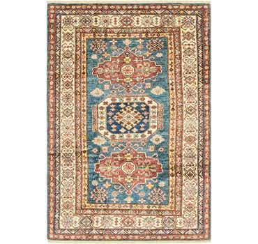 Image of 4' x 6' Kazak Oriental Rug