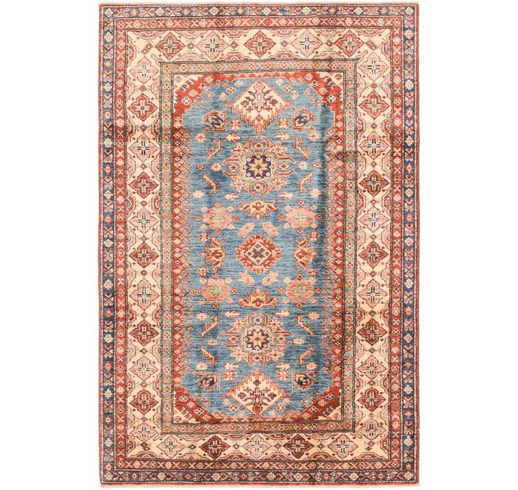 4' x 6' 1 Kazak Oriental Rug