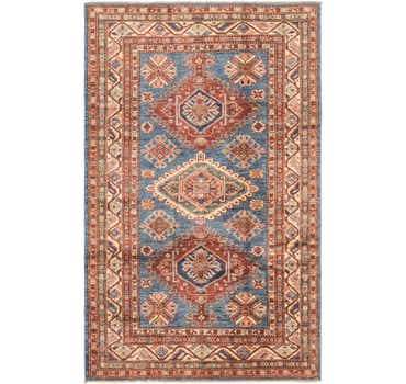 Image of 3' 11 x 6' 3 Kazak Oriental Rug