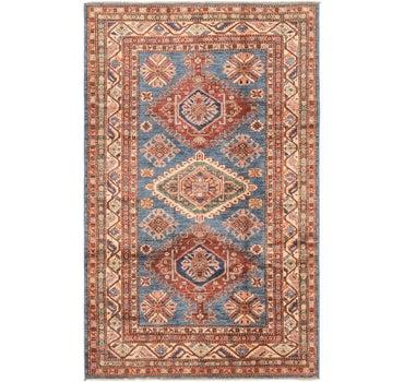 3' 11 x 6' 3 Kazak Oriental Rug main image