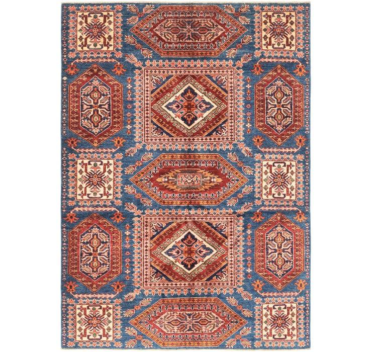 5' 1 x 7' Kazak Oriental Rug