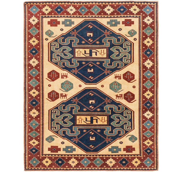 5' x 6' 3 Shirvan Persian Rug