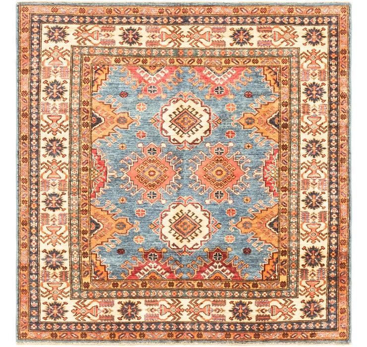 4' 11 x 5' 2 Kazak Oriental Square Rug