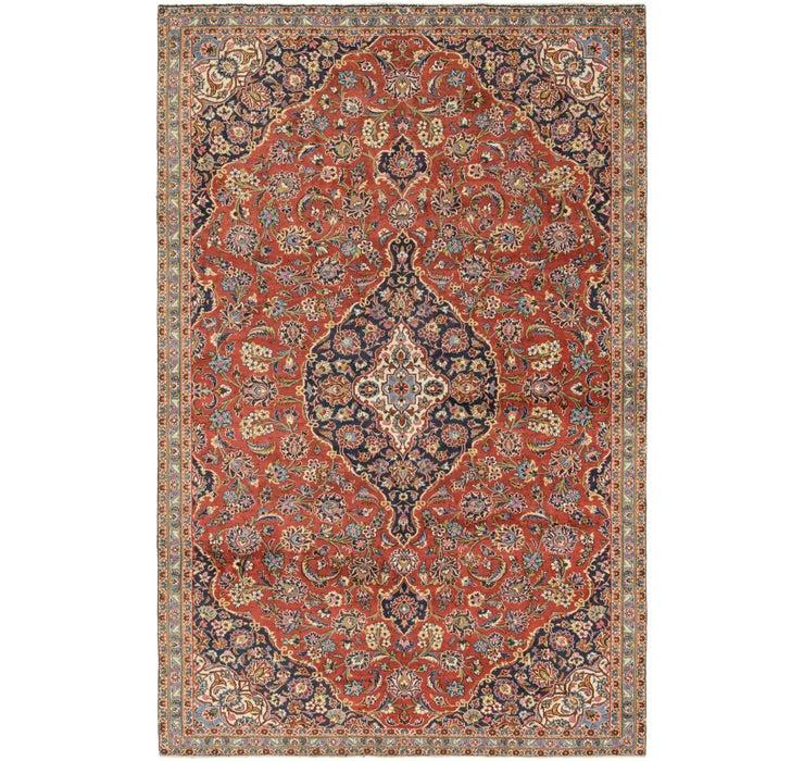 6' 10 x 10' 10 Kashan Persian Rug