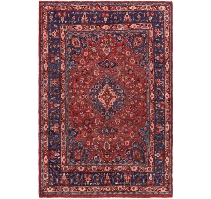 6' 5 x 9' 8 Mashad Persian Rug