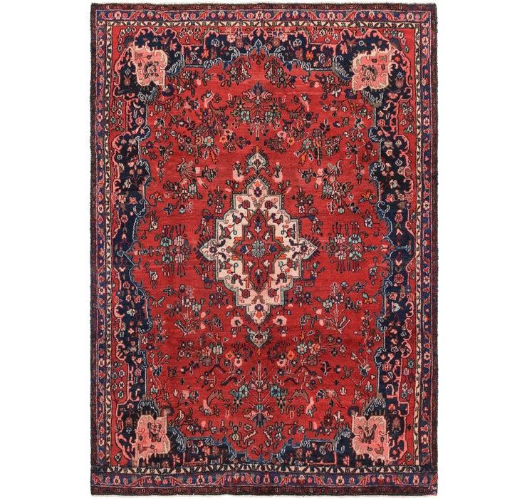 6' 9 x 9' 9 Hamedan Persian Rug