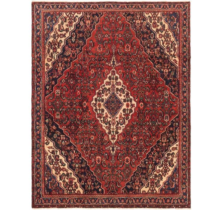 6' 4 x 8' 4 Hamedan Persian Rug