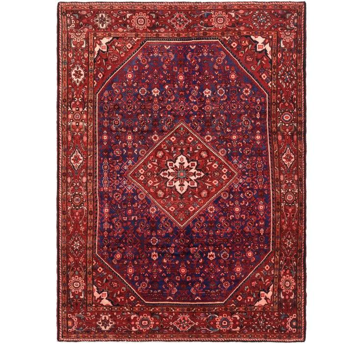 7' 1 x 10' Hossainabad Persian Rug