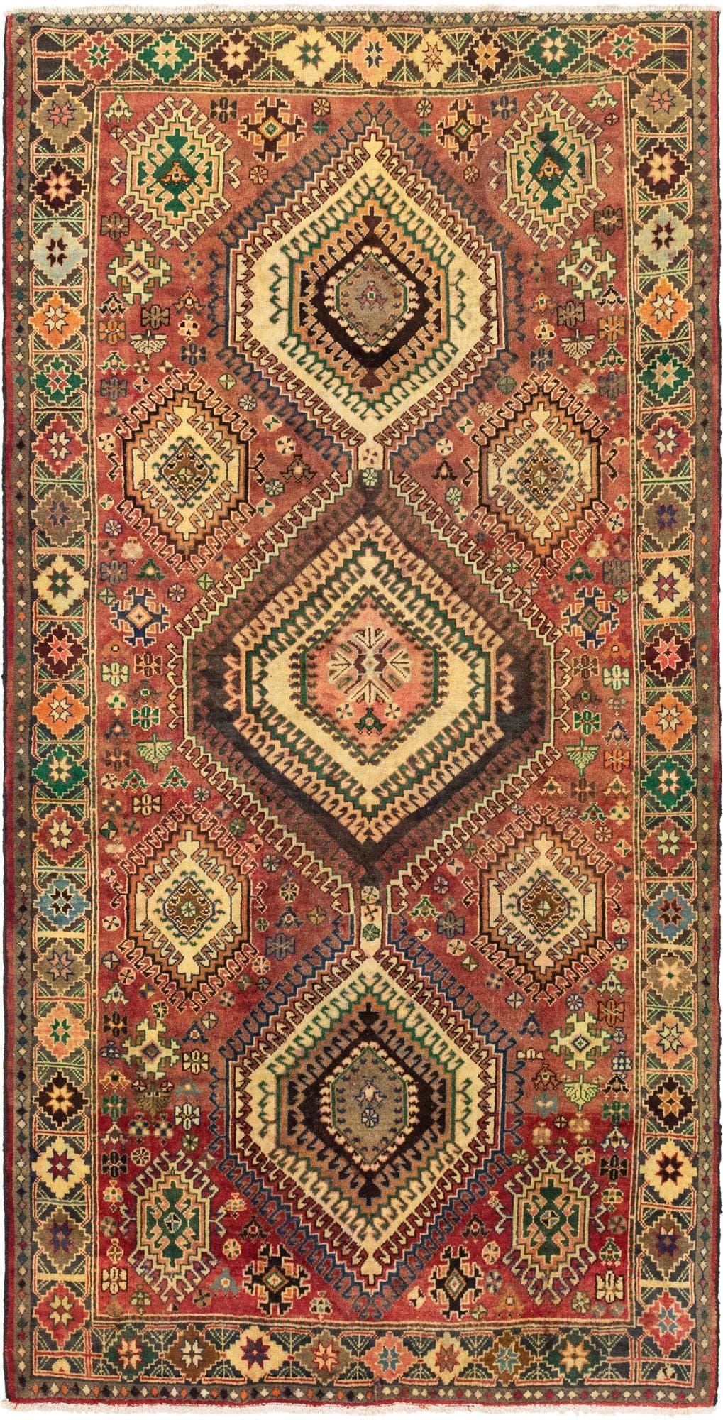 5' 3 x 10' 4 Bakhtiar Persian Runner Rug main image