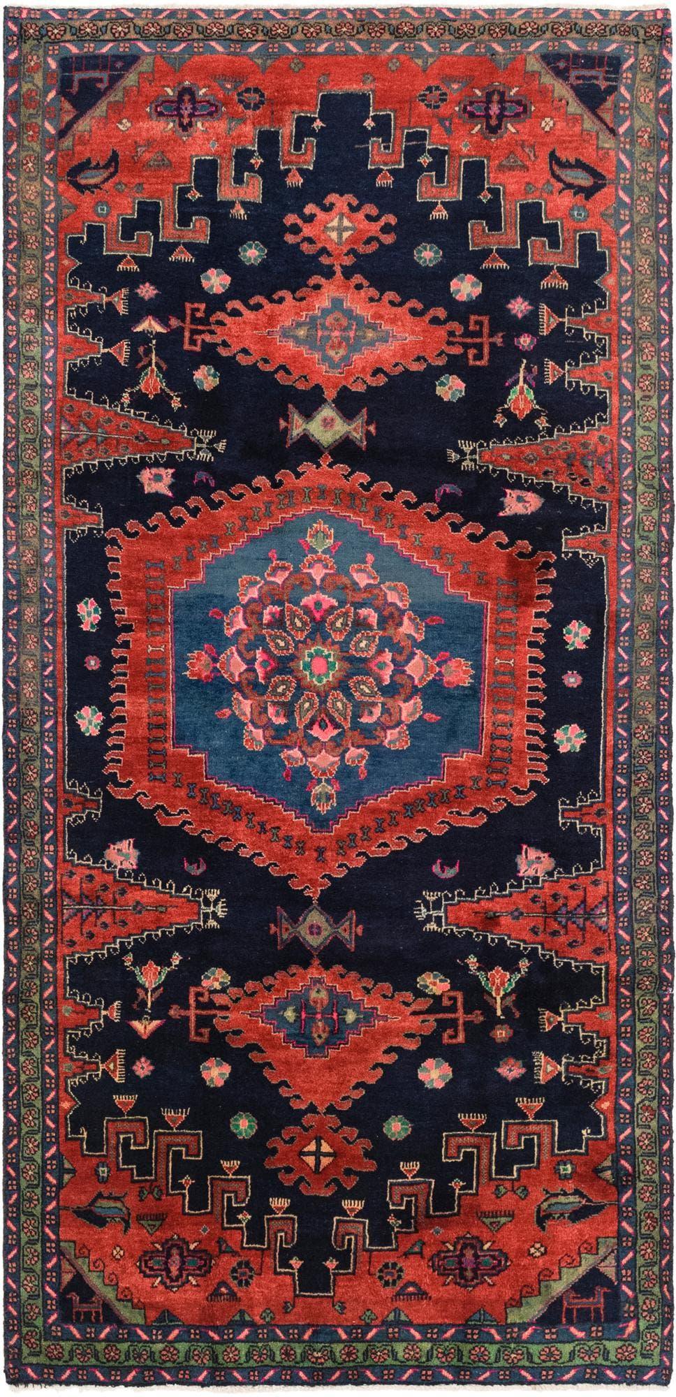 4' 9 x 10' Viss Persian Runner Rug main image