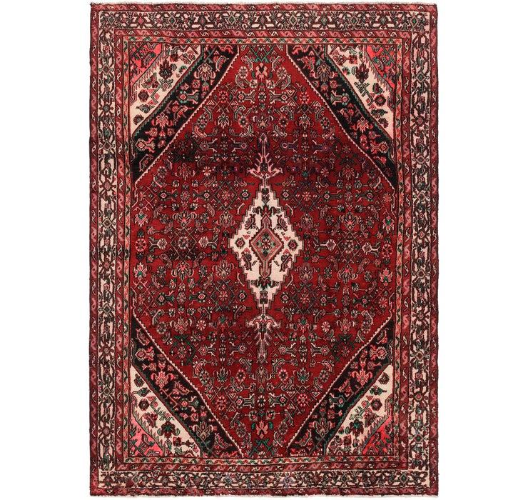 7' x 9' 9 Hamedan Persian Rug