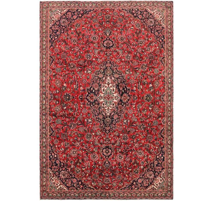 6' 10 x 10' 2 Mashad Persian Rug