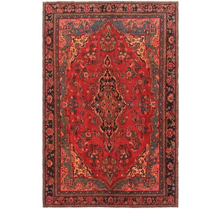 6' 4 x 9' 8 Hamedan Persian Rug