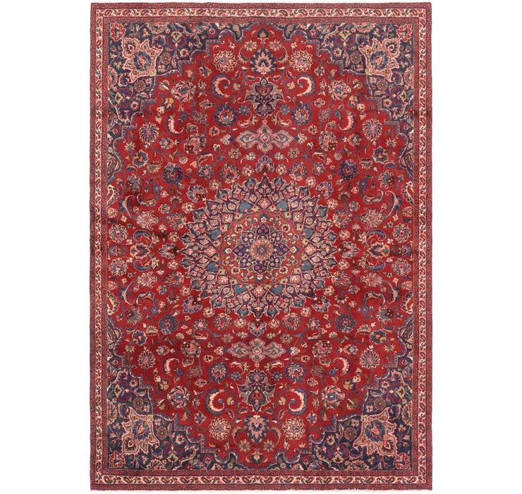 7' 3 x 10' 5 Mashad Persian Rug