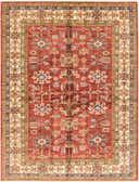 173cm x 225cm Kazak Oriental Rug thumbnail image 1