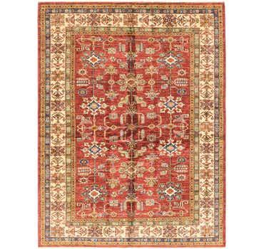 Image of 5' 8 x 7' 5 Kazak Oriental Rug